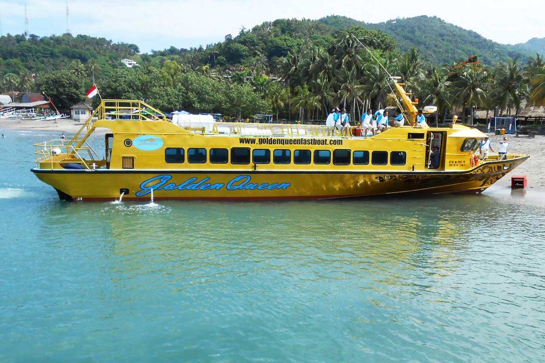 Gili Trawangan Tiket Murah Fast Boat Ke Beach Fiesta  Bali Dan Lombok Golden Queen Fastboat